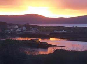 Sunrise over Rerrin, Bere Island, County Cork, Ireland